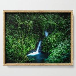 Jungle Waterfall Serving Tray