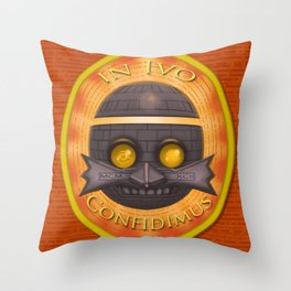 State of Ivo Throw Pillow