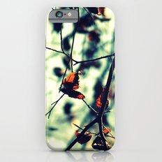 Aqua Leaves iPhone 6s Slim Case