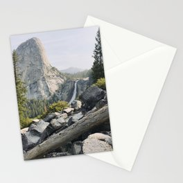 Liberty Cap and Nevada Falls in Morning Light Stationery Cards