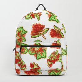 Native Australian Flower Print Backpack