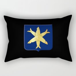 Coat of arms of Zandvoort Rectangular Pillow