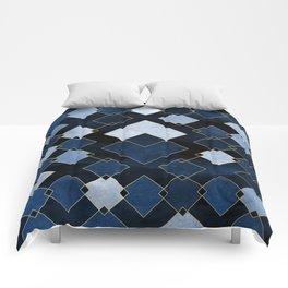 Blue Nebula Comforters