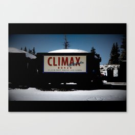 Climax CO.  Canvas Print