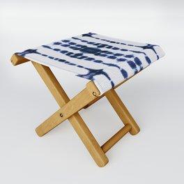 Boho Tie-Dye Knit Vertical Folding Stool
