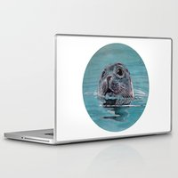 seal Laptop & iPad Skins featuring seal by ARTito