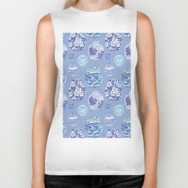 Chinoiserie Ginger Jar Collection No.6 Biker Tank