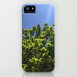 above us only sky iPhone Case