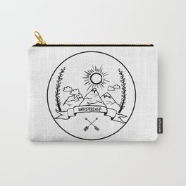 Mountain Wanderlust Carry-All Pouch