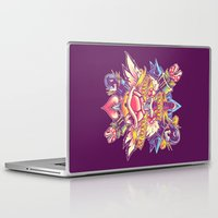 minions Laptop & iPad Skins featuring BOWSER NEVER LOVED ME by BeastWreck