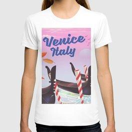Venice Italy Travel poster T-shirt
