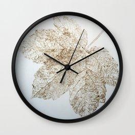 Trace of Beauty IV vs I Wall Clock