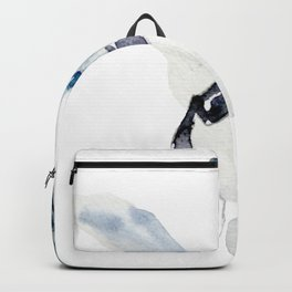 Watercolor Magpie Painting Backpack