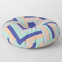 Four Squared Floor Pillow