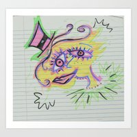 top of the morning to ya Art Print
