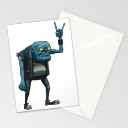 Metal Goblin Stationery Cards