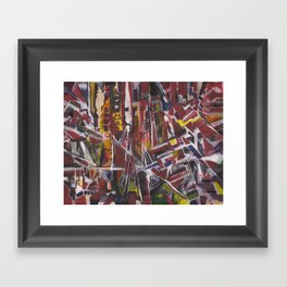Abstract 2014/11/30 Framed Art Print