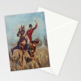 Henri Toulouse-Lautrec / Le maître d'équipage - 1882 Stationery Cards