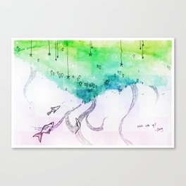 Right side up Canvas Print