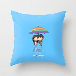 Loverain Throw Pillow