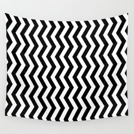 PATTERN#01 =STRIPES/BLACK+WHITE= Wall Tapestry