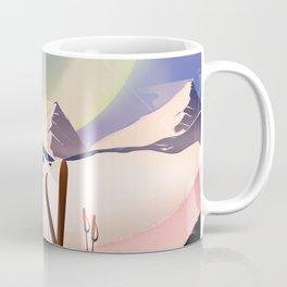Proxima Centauri Vintage Sci-fi Ski travel poster Coffee Mug