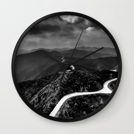 OUTTA HERE Wall Clock