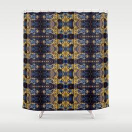 Cyclopean Armor Shower Curtain
