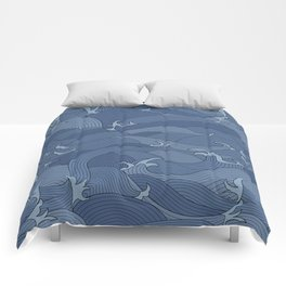 Any Port in a Storm Comforters