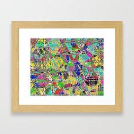 Impossible weave Framed Art Print