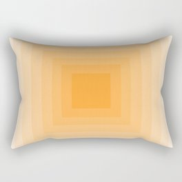 Tangerine Monochrome Rectangular Pillow