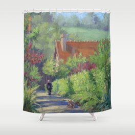 Gentle Soul — French Landscape Shower Curtain