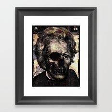 Jackson pop art  Framed Art Print
