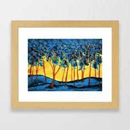 Twilight Woods #334 by Mike Kraus - valentine's day girlfriend wife boyfriend husband gifts presents Framed Art Print