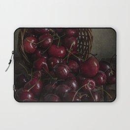 Still life with fresh cherries Laptop Sleeve