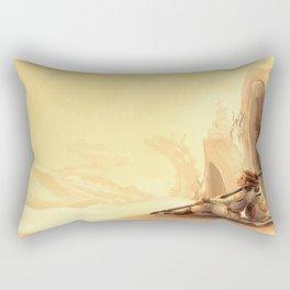 Desert Princess Rectangular Pillow