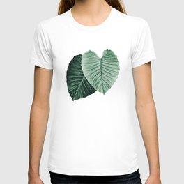 Love Leaves Evergreen - Him & Her #2 #decor #art #society6 T-shirt