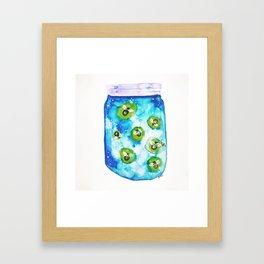 Childhood in a Jar Framed Art Print