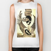 mother Biker Tanks featuring Mother by Nima