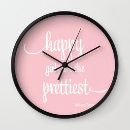 Happy Girls Wall Clock