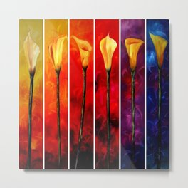 Always Calla Lily Metal Print