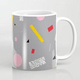Memphis Milano Deconstructed Tahiti Table Lamp Confetti Coffee Mug