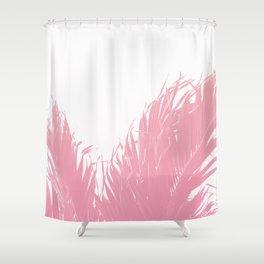 Pastel tropical fringe Shower Curtain
