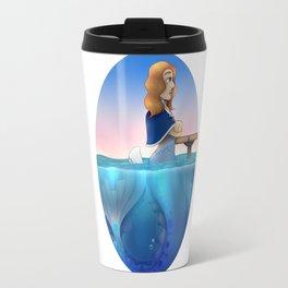 Silver Mermaid Travel Mug