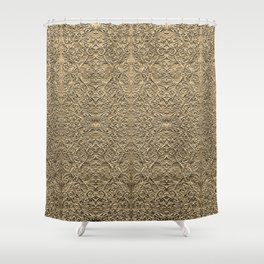 fools gold Shower Curtain