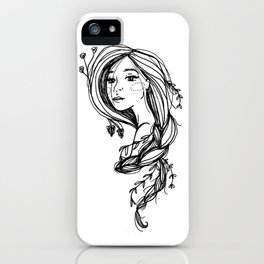 Let Down Your Hair iPhone Case