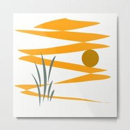 Solar energy  Metal Print