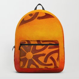 Abstract heat Backpack