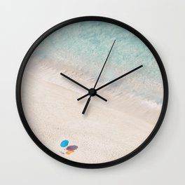 The Aqua Umbrella Wall Clock
