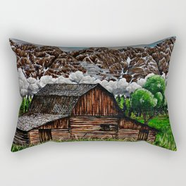 """Abandon Beauty"" Rectangular Pillow"